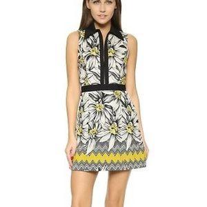 Alice + Olivia Ellis Collared Dress